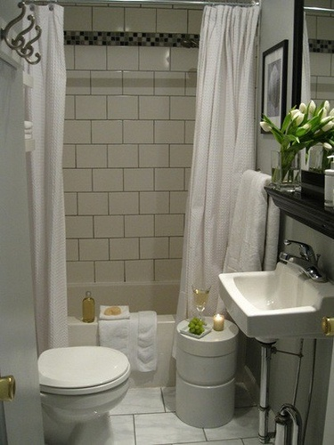 cute small bathroom thinking wed be stepping on each other - Nice Small Bathroom Designs