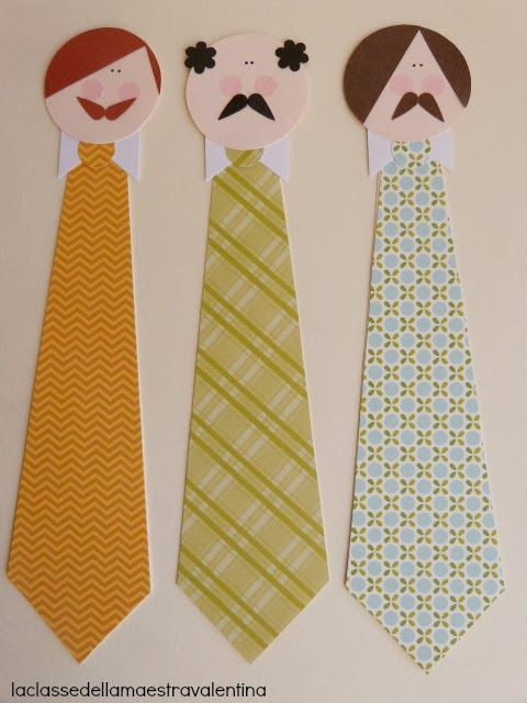 Create and send your child a cute tie bookmark