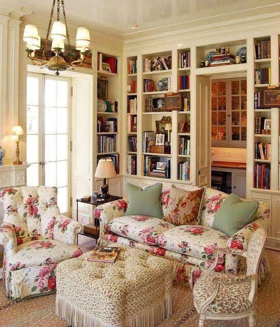 Pretty sitting room