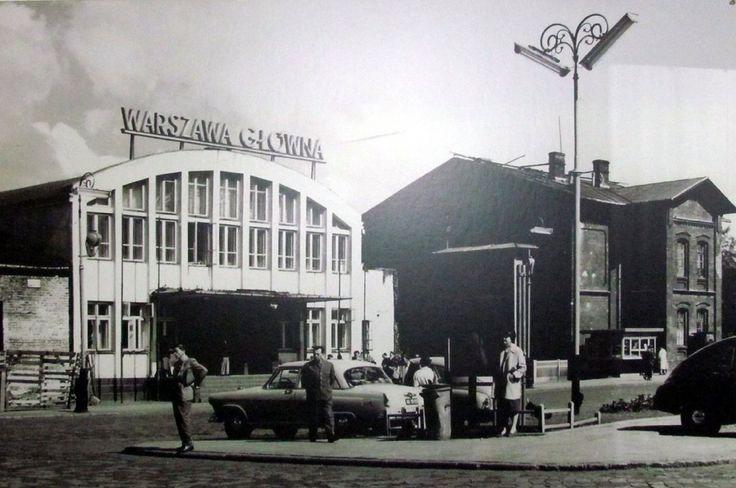 Warszawa Główna - lata 60-te