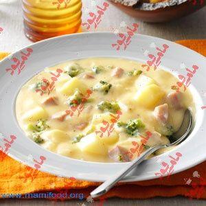 طرز تهیه #سوپ_سیب_زمینی_و_کرفس لذیذ و خوشمزه در مامی فود به همراه آموزش مرحله به مرحله سوپ سیب زمینی و کرفس مخصوص پیش غذا