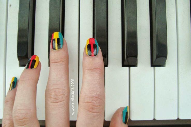 Nailed It NZ: Piano Nail Art | Trip Down Nail Art Lane Day 1 http://www.naileditnz.com/2014/01/piano-nail-art-trip-down-nail-art-lane.html