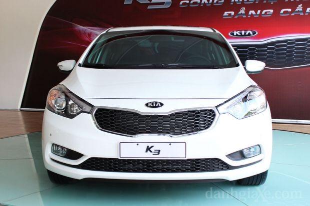 Đánh giá sơ bộ về mẫu xe Kia K3 mới ra mắt của Thaco Kia