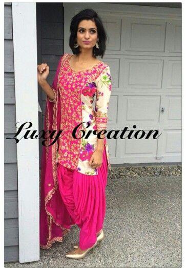 Punjabi Suit by Luxy Creation