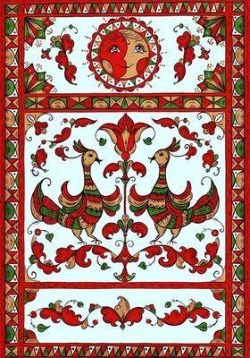 пермогорская роспись - Поиск в Google