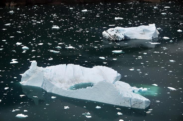 La densidad del agua helada