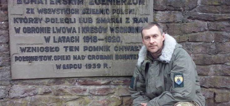 Ukrainiec z pułku Azow apeluje o pomoc w ratowaniu cmentarza polskich bohaterów | Telewizja Republika
