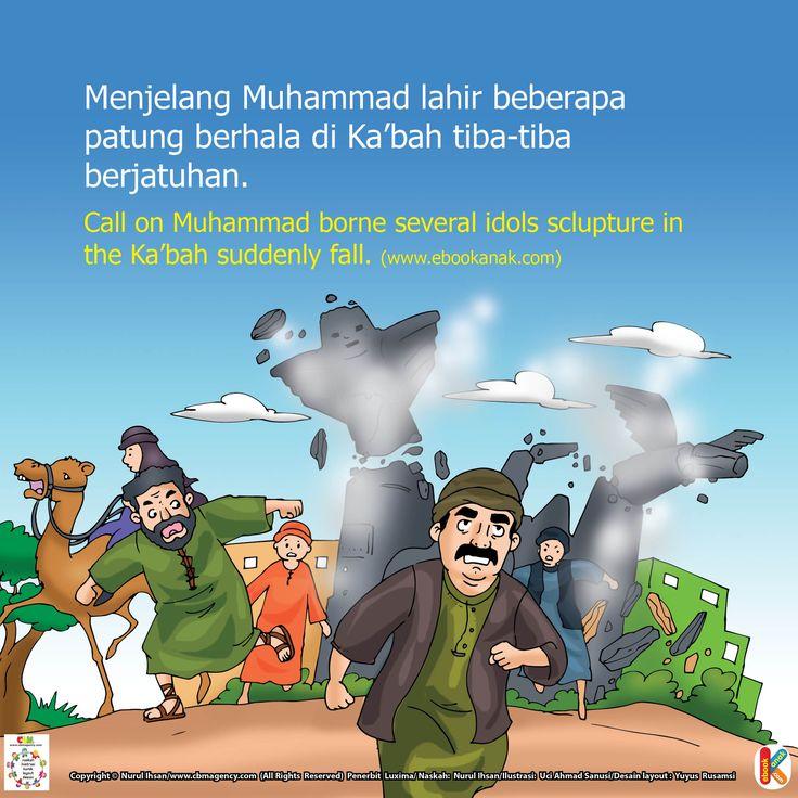 Patung Berhala Berjatuhan di Ka'bah | Ebook Anak