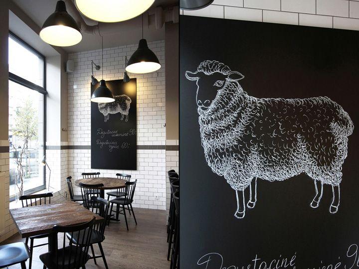 Дизайн интерьера ресторана, в котором царит дух Скандинавии