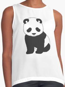 Tiny Panda Contrast Tank