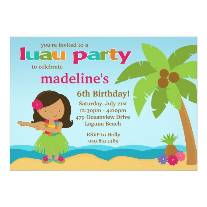12 best Girl Birthday Party Invitations images on Pinterest