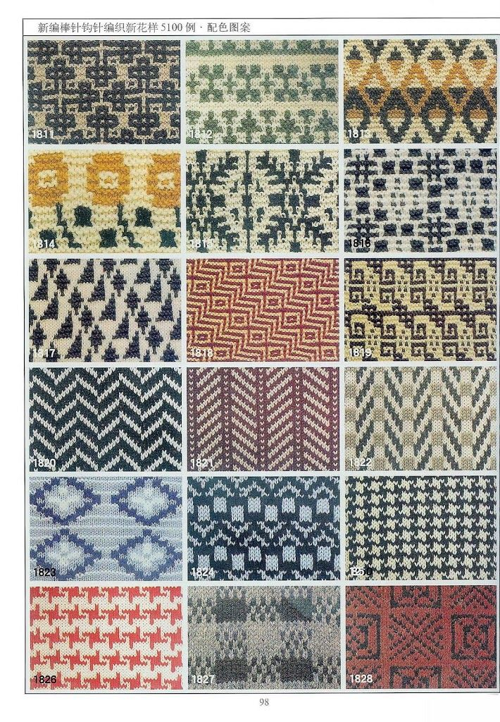 10+ images about Stitches: Slip stitches two colors on Pinterest Patrones, ...