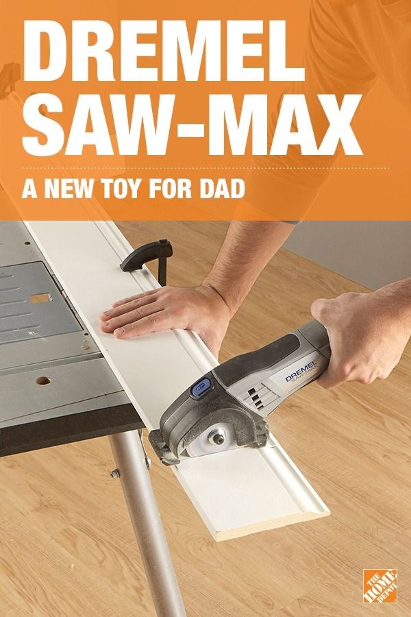 Help Dad tackle any project with the Dremel Saw-Max. He'll make perfectly straight and clean cuts in wood, plastic, metal, tile and masonry with this compact and easy-to-handle saw. With endless uses and possibilities, it's the perfect gift for Dad to add to his tool collection. Click to learn more about this versatile kit.