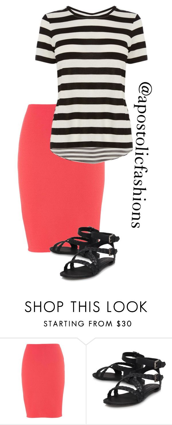 """Apostolic Fashions #1327"" by apostolicfashions on Polyvore featuring maurices and Karen Millen"