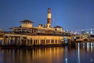 The Binghamton Ferryboat turned Restaurant turned Eyesore - set for demolition in the next couple months [5184x3456][OC] : AbandonedPorn