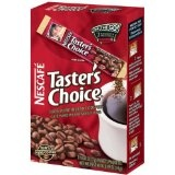 Nescafe Taster's Choice Instant Coffee, Regular, 0.49-Ounce Single Sticks, 7-Count Boxes (Pack of 24) (Misc.)