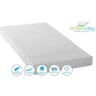 Buy Kinder Valley Deluxe Spring Cot Bed Mattress at Argos.co.uk - Your Online Shop for Cot and cot bed mattresses.