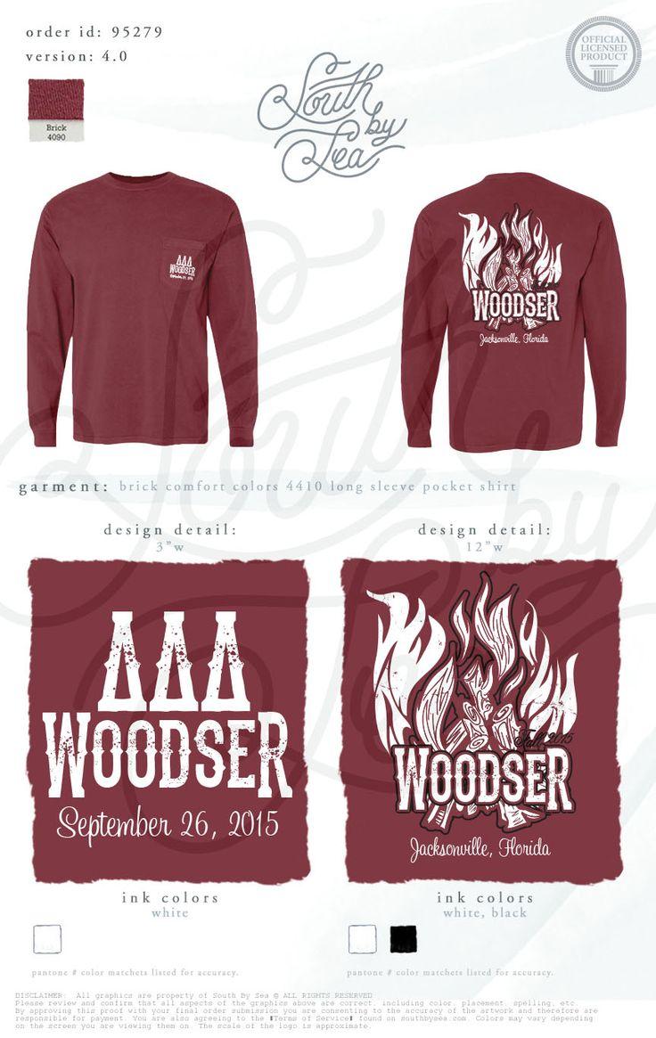 T shirt design jacksonville fl - Tri Delta Delta Delta Delta Woodser Date Dash Tee Shirt Ideas Campfire