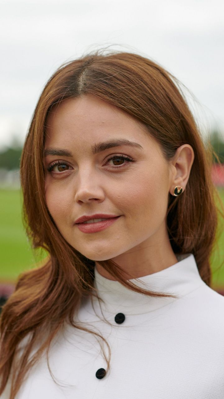 download 720x1280 brown eyes jenna louise coleman photoshoot 2018