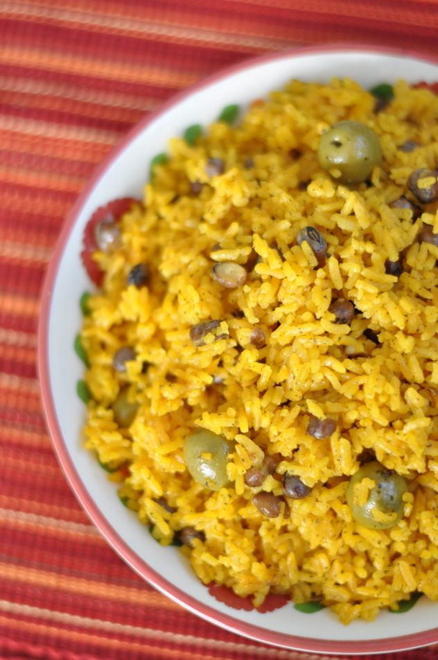arroz con gondules - made these last night for dinner, and my husband and daughter had seconds lol, I guess it's family approved. I used store bought sofrito, but I'm going to try to make it from scratch next time. Also, I made the adobo seasoning from scratch, used green gondules. Yum, I'd make this again!