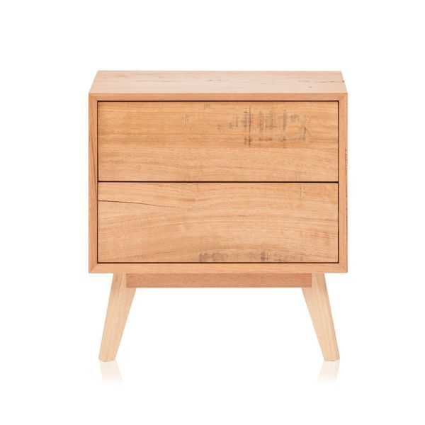 SHANNON BEDSIDE    Our Shannon design is constructed using a mix of solid and timber veneers. Photographed in Feature grade Oak.  Australian made with a Lifetime Guarantee.