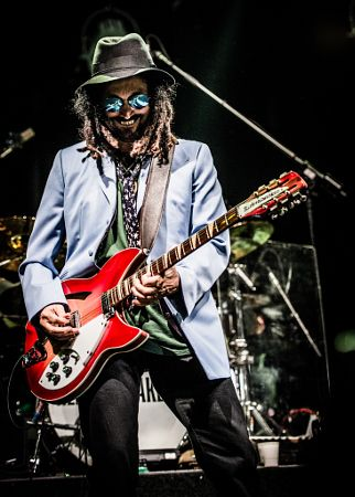Mike Campbell of the Heartbreakers by John Lill