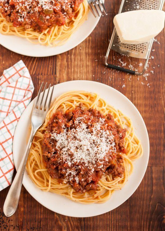 Recipe: Slow-Cooked Bolognese Sauce — Slow Cooker Recipes from The ...