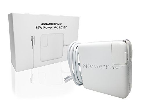 Monarch Power Replacement Charger for Macbook Pro and Macbook Air Power Adapter Magnetic L-Tip 11-inch | 13-inch | 15-inch | 17-inch (Mid 2012 and Earlier Models)  UNIVERSAL COMPATIBILITY - Compatible with ALL Apple MacBook Pro and MacBook Air laptops produced before Mid 2012 that use the L-Tip Magsafe (1) magnetic connection: MacBook Pro 13 inch, 15 inch, and 17 inch, MacBook Air 11 inch and 13 inch, MODEL NUMBERS: A1150, A1151, A1181, A1211, A1212, A1226, A1229, A1237, A1260, A1261, ...