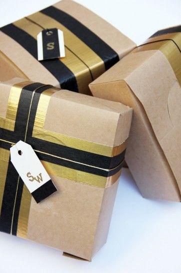 Confezioni regalo di Natale fai da te, idee originali