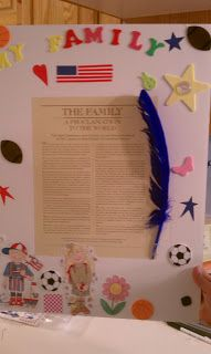 Frame the Proclamation on the Family - Learning and Living the Gospel