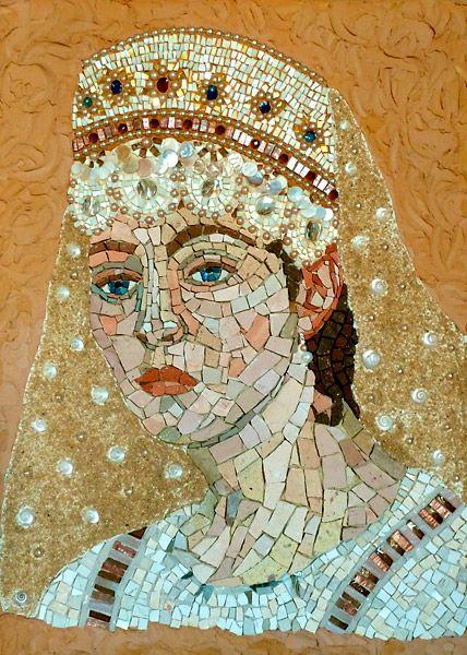as 25 melhores ideias de mosaic portrait no pinterest arte em mosaico mosaico e mosaicos. Black Bedroom Furniture Sets. Home Design Ideas