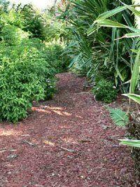 Garden Mulch Ideas easy landscaping ideas for a small yard with mulch Vegetable Garden Mulches
