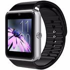 ﹩28.92. Smartwatch Unlocked Watch Cell Phone Bluetooth iPhone Android Micro SIM Card    Color - GT-Silver, Manufacturer - CNPGD, UPC - 683405404415, ISBN - Does not apply, EAN - 0683405404415, Compatible Operating System - Android, Band Material - Resin, Band Color - Black, Features - Sim Card Support, SHIPPING - FREE SHIPPING, TAX - NO TAX, Dimensions - 4 x 3.1 x 3 inches, Weight - 1.6 ounces