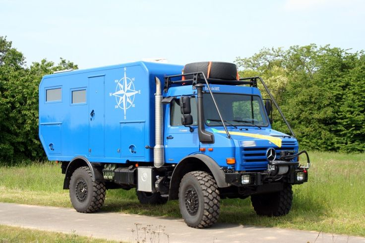 Unimog U4000 by Bocklet,...my kind of rv