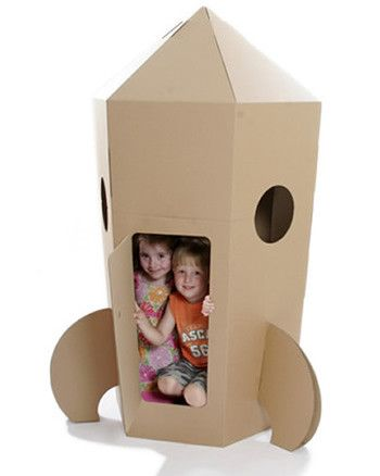 The Paperpod Rocket is a fantastic resource to encourage role-play and stimulate your child's imagination.    Your young astronauts can decorate both inside and out before zooming off to distant planets to enjoy their own space adventure.