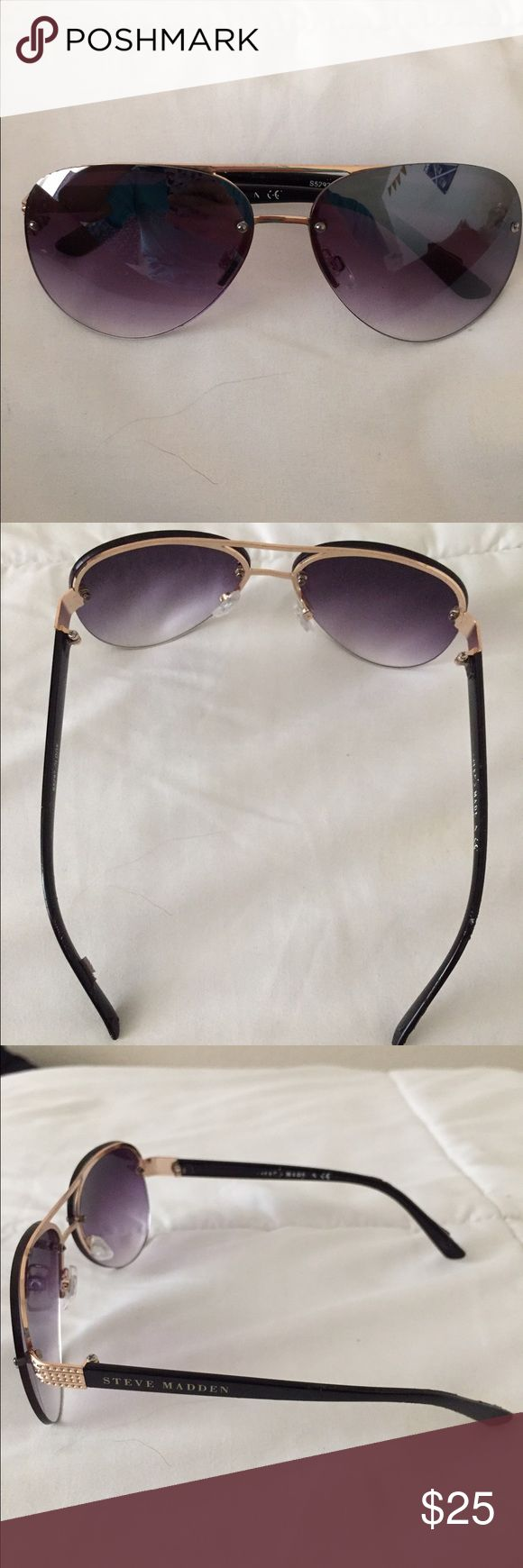 Steve Madden sunglasses Very cute sunglasses! Steve Madden Accessories Sunglasses