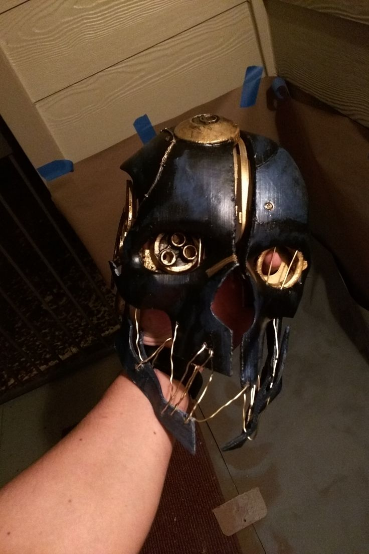 Corvo's mask #Dishonored