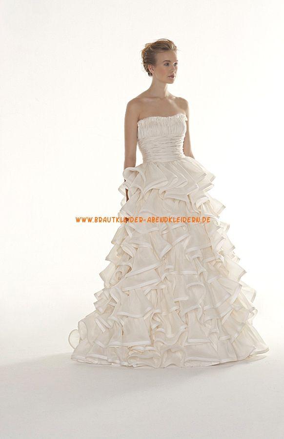 72 best Brautkleider images on Pinterest   Wedding frocks, Short ...