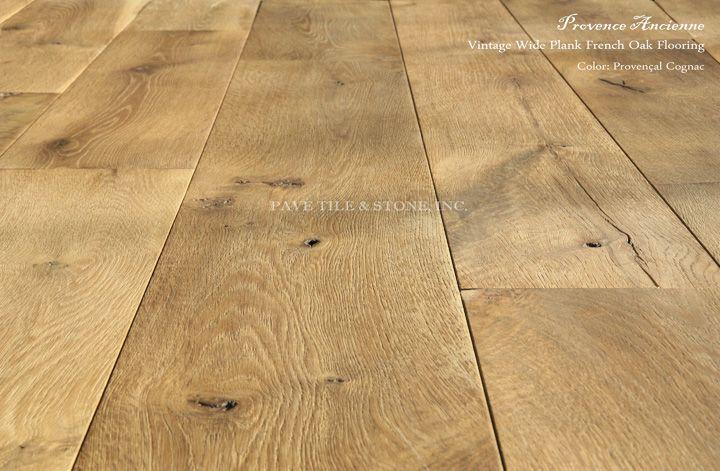 Pavé Tile & Stone, Inc. > Vintage Wide Plank French Oak Floors: Provence Ancienne Vintage Wide Plank French Oak Flooring™