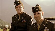 Band of Brothers (TV miniseries, HBO). From Wikipedia, the free encyclopedia. Starring Damien Lewis, Don Livingston. 10 episodes, 2001. Tom Hanks & Steven Spielberg produced. List of episodes, story line.