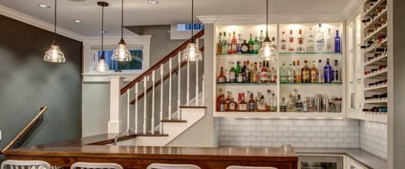 The 19 Coolest Things To Do With A Basement. Some of these ideas WILL be mixed for our basement someday.