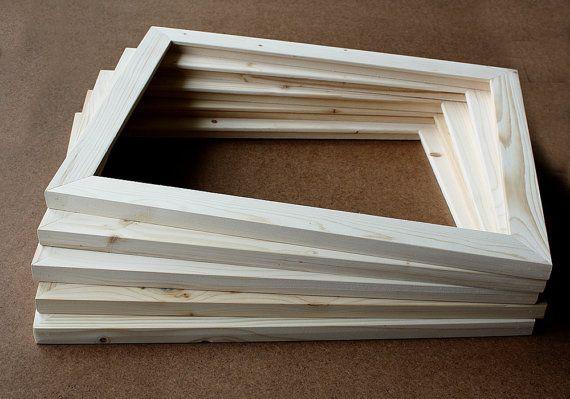5 11x14x1 25 Quot Unfinished Wood Frames Set Of 5 Frames No