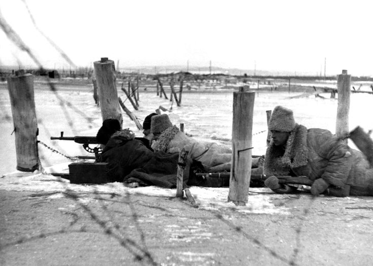 An Axis Romanian Army machine-gun crew fire at enemy Soviet troops near Novorossiysk with a Czechoslovakian made ZB vz. 37 gun. When the Germans launched Operation Barbarossa, invading the Soviet Union on 22 June 1941, Romania joined the offensive....pin by Paolo Marzioli