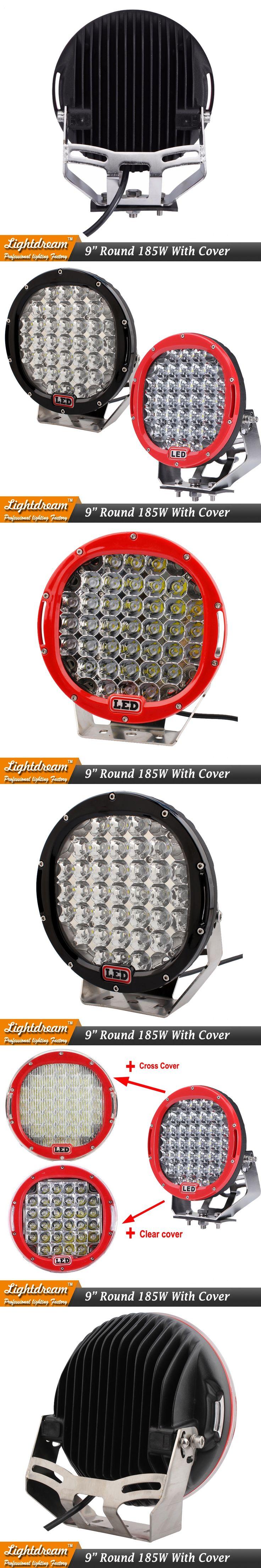 The 33 Best Led Headlight Kits Images On Pinterest Headlights Lamp Lightings Gt Wholesale Lamps 5mm Leds Arb 185w Work Light Red Black 12v 24v Offroad Fog Drive