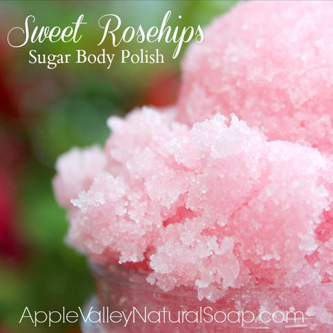 I love this sugar scrub from Apple Valley Natural Soap! Their #natural body care line is amazing!