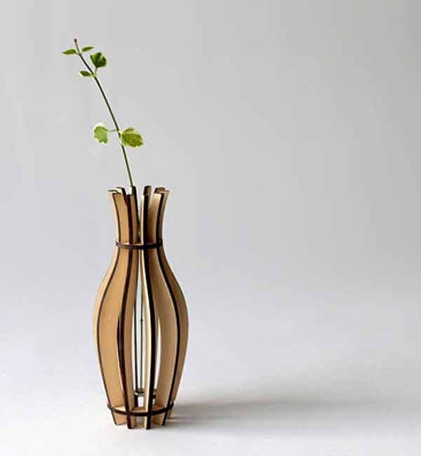 Flat Packables Fin Vase