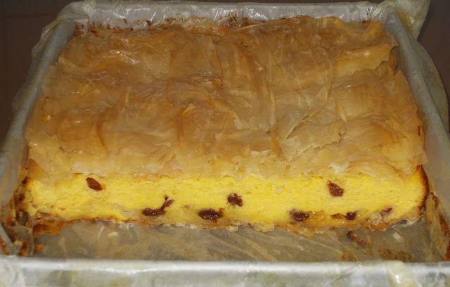 Placinta cu iaurt - Bunătăți din bucătăria Gicuței