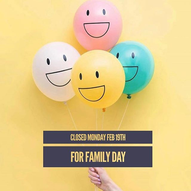 Happy Family day from our family to yours ! Just a reminder that we will be closed on Monday and will reopen Tuesday #cabanadental#familyday#family#relax#enjoy#dental#teeth#familyandcosmeticdentist#windsorontario#windsoressex#wincity#yqg