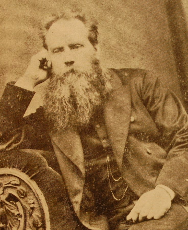 A pensive #beardoftheweek this morning - Rev. J. Parkinson has obviously noticed the weather