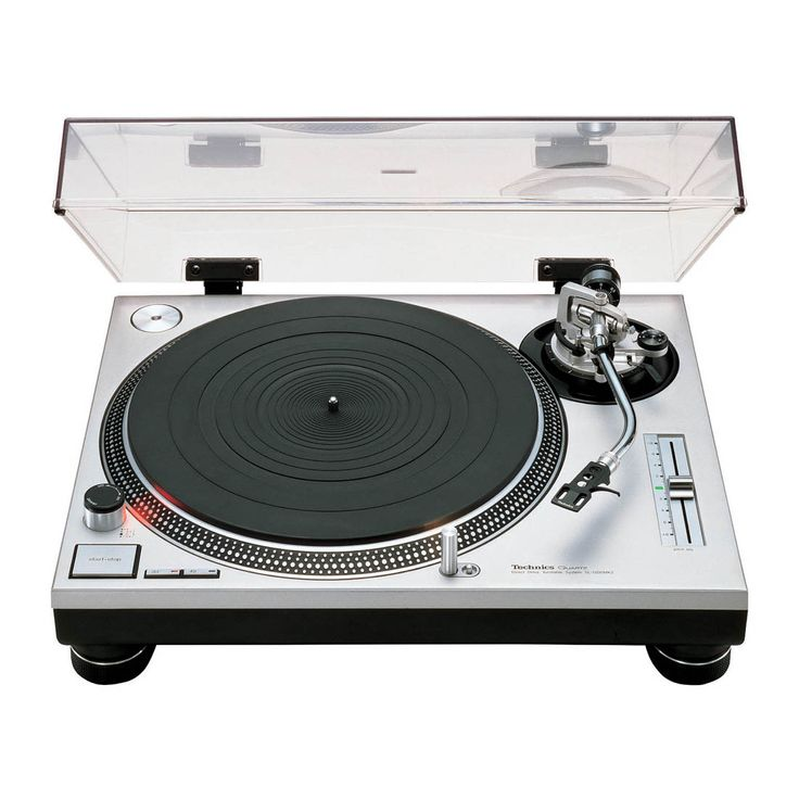 Technics SL 1200 mkii. The original product photo. A design classic.